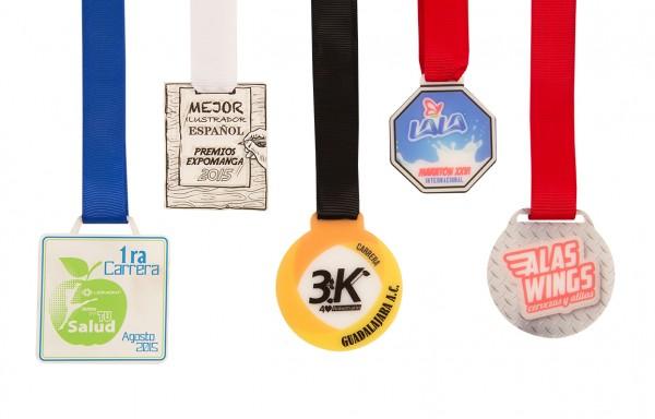 Medallas Acrílico 5