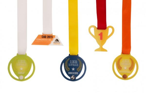 Medallas Acrílico 6